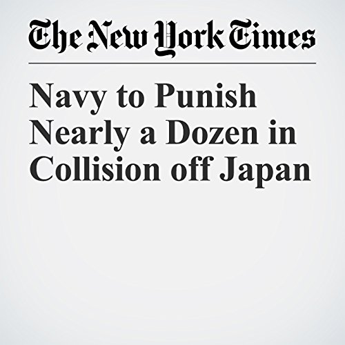 Navy to Punish Nearly a Dozen in Collision off Japan copertina