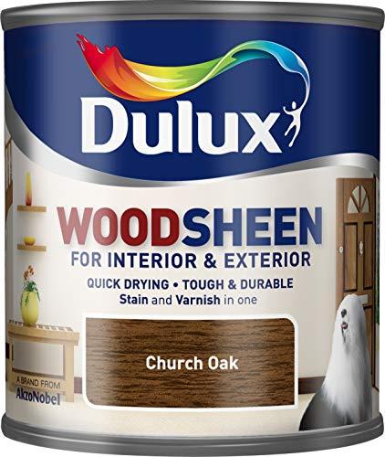 Dulux Woodsheen 250ml Kirche Oak