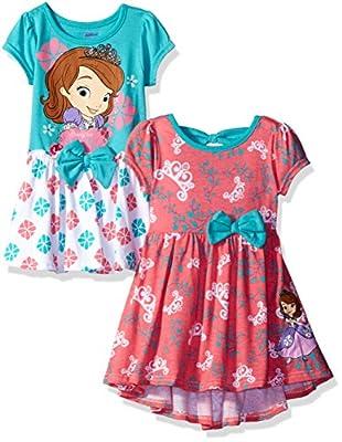 Disney Girls' Sofia the First 2 Pack Dresses
