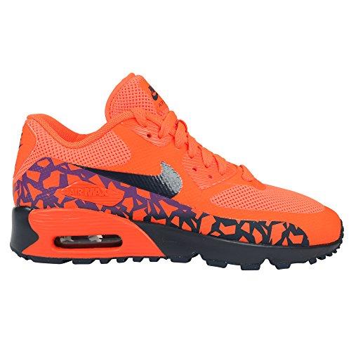 Nike Nike Jungen 852819-800 Fitnessschuhe, Orange (Total Crimson/Obsidian/Vivid Purple), 36.5 EU