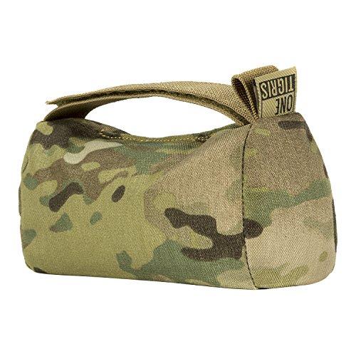 OneTigris Multicam Shooting Sandbag Pre-Filled Gun Rest Bag (Front/Rear Rest Bag - SD06)