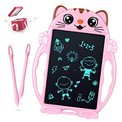 LCD Writing Tablet, Toys for 2 3 4 5 6 Years Old Girls Boys, LCD Drawing Tablet for Kids, Digital Doodle Board for Little Girls Toddlers, Toys Gifts for Girls Boys Christmas Stocking Stuffers for Kids