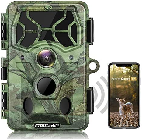 Campark 4K WiFi Trail Camera 30MP Bluetooth Hunting Game Camera with Night Vision Motion Activated product image
