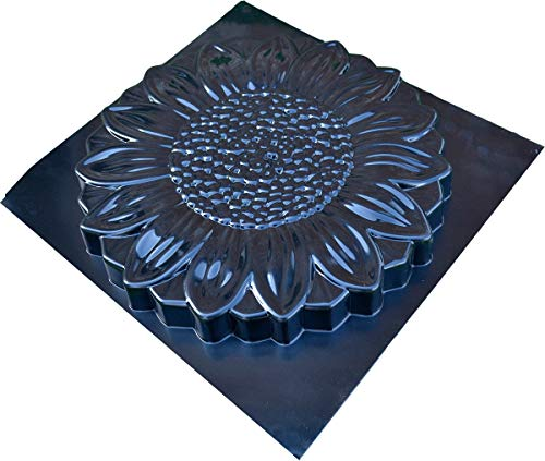 Betonex Sold 1 Mold Flower Stepping Stone Concrete Cement Mould Garden Path Floral Style (S54)