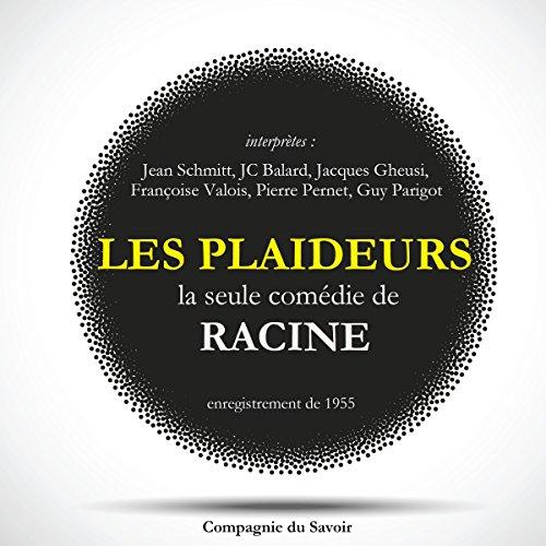 """Couverture de """"Les Plaideurs"""", la seule comédie écrite par Racine"""