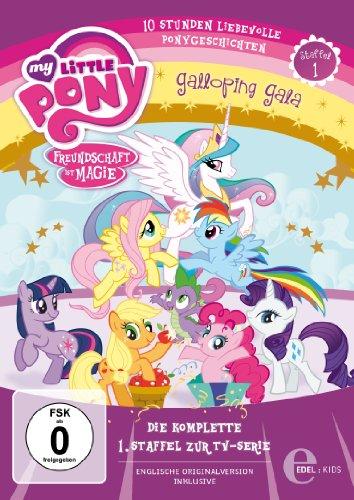 My Little Pony: Freundschaft ist Magie - Die komplette 1. Staffel [4 DVDs]