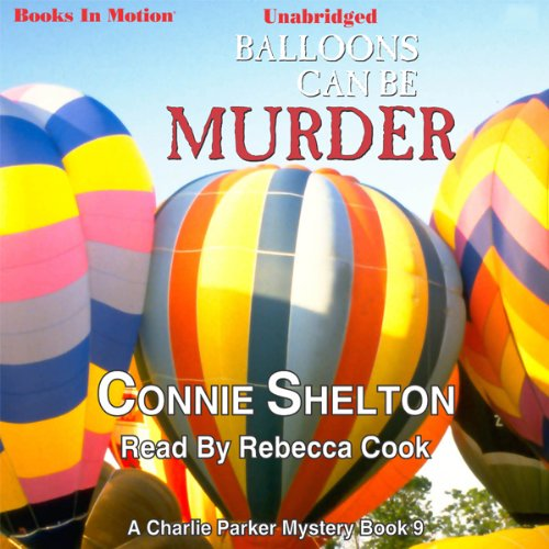 Balloons Can Be Murder audiobook cover art