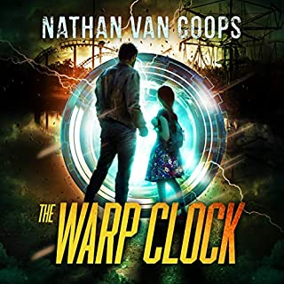 The Warp Clock: A Time Travel Adventure audiobook cover art