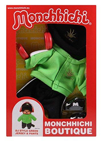 Sekiguchi 254750 - Monchhichi Boutique B2 DJ Outfit, grün