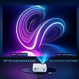 Zoom IMG-2 mini bluetooth wifi proiettore toptro