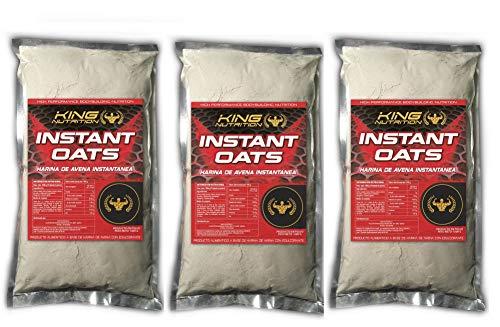 King Nutrition Instant Oats Suplemento Harina de avena 3kg Galletas Maria