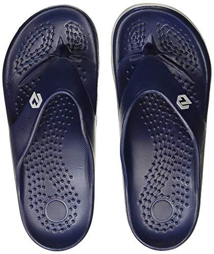 BATA Men's Neymar Blue Hawaii Thong Sandals-10 (8779920)