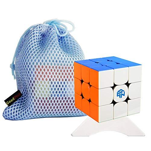 OJIN Ganspuzzle GAN356 R S Numerical IPG V5 Cube 3x3 GAN356 R The Enhanced of Gan356R S Cube Smooth Puzzle con un trípode de Cubo y una Bolsa de Cubo (Sin Etiqueta)