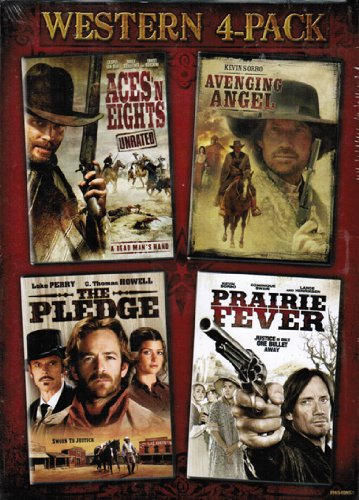 Western 4-Pack (Aces 'N Eights / Avenging Angel / The Pledge / Prairie Fever)