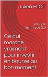 Analyse Technique 3.0: Ce qui marche vraiment pour investir en bourse au bon moment