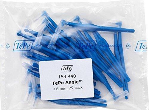 TePe Interdentalbürsten Angle BLAU 0,6 mm, 25 Stück