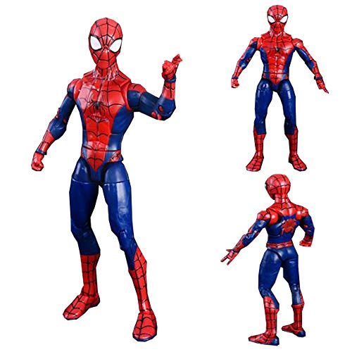 17cm Decoración Spiderman Classic Modelo Muñeca De Juguete De Regalo De Cumpleaños