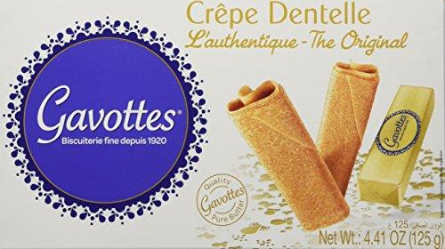 Gavottes Crepe Dentelle Cookies - 125 gr box by Loc Maria