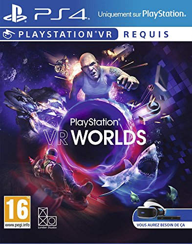 VR Worlds - PlayStation VR - PlayStation 4 - [Edizione: Francia]