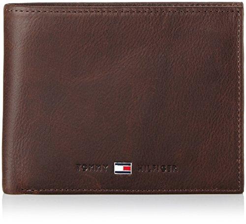 T.H. Deutschland GmbH Tommy Hilfiger JOHNSON TRIFOLD BM56927583 Herren Geldbörsen 13x10x3 cm (B x H x T), Braun (BROWN 204)