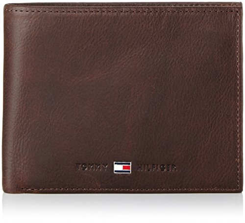 Tommy Hilfiger Herren JOHNSON TRIFOLD Geldbörsen, Braun (BROWN 204), 13x10x3 cm
