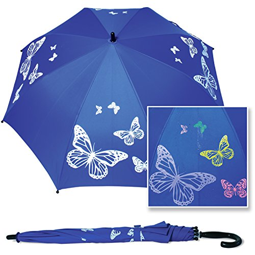 Chameleon Skinz Color Changing Butterfly Umbrella