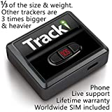 Tracki 2020 Model Mini Real time GPS Tracker. Full USA & Worldwide Coverage. For...