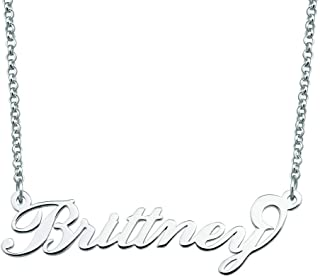 925 Sterling Silver Personalized Gift Custom Name Necklace