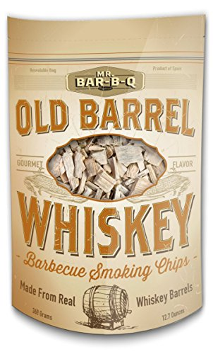 Mr. Bar-B-Q 05042bc Old Lauf Räucherholz Grill Flavor – Whiskey, braun