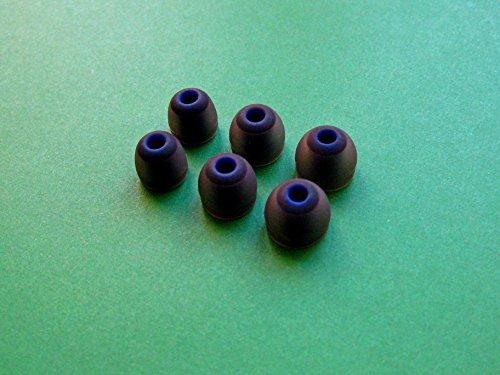 6 Stück- S/M/L Runde (BK) Ohrstöpsel Ohreinsätze Ersatz Set für Jaybird Bluebuds X Bluetooth In Ear Ohrhörer/Kopfhörer