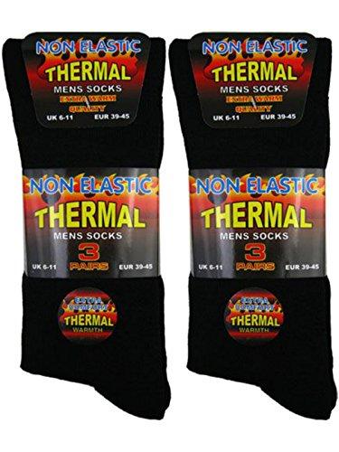 6 pairs of thermal socks men