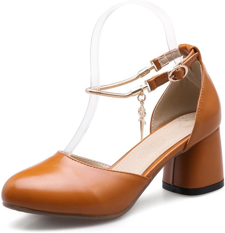 BalaMasa Womens Oversized Comfort Special-Occasion Urethane Sandals ASL04958