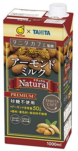 マルサン タニタカフェ アーモンドミルク ナチュラル 1L