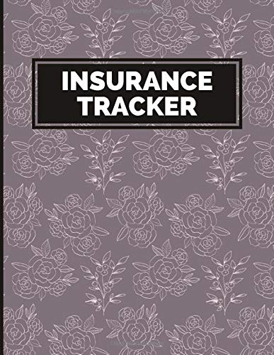 Insurance Tracker: Auto, Health And House Registration Card Holder