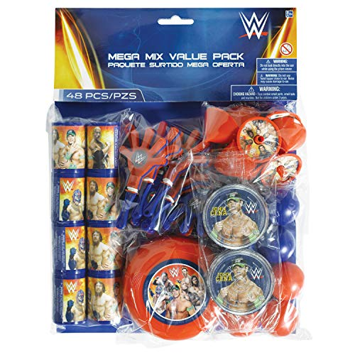 WWE Party Favors (For 8 Guests)
