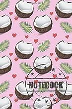 Notebook: Fresh Vintage Coconuts Notebook