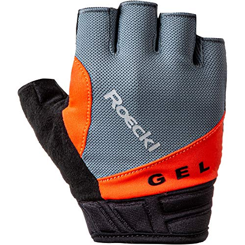 Roeckl Itamos Fahrrad Handschuhe kurz grau 2020: Größe: 9