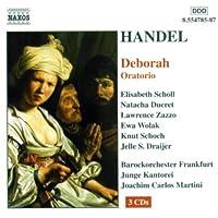 Deborah Oratorio by GEORGE FRIDERIC HANDEL (2002-03-19)