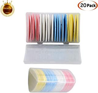 Tailors Chalk for Fabric Markers for Sewing Tailor Chalks Paint for Tailoring Sewing Notions Quilting Supplies 20Pcs Pink /& Yellow