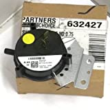 632212 - Tappan Furnace Vent Air Pressure Switch - OEM Replacement