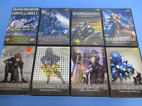 Buy Discount Ghost in the Shell Film and Stand Alone Complex Season One 26 EPS 8-disc Anime DVD Set