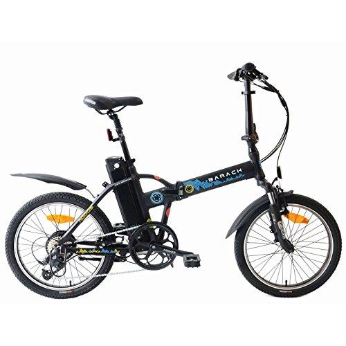 agogs Barack 20pulgadas eléctrico bicicleta plegable city Rueda con marco de aluminio bafang Motor 250W (Boost a 500W) Sony Li-Ion 530WH (11ah/36V) XL batería Microshift 8marchas E-Bike Pedelec