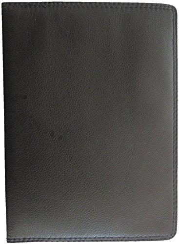 Josephine Osthoff Handtaschen-Manufaktur SOS großes Leder Ausweisetui Schwarz RFID Schutz DIN A6 Etui für Ihre Ausweise Behindertenausweis 941/10
