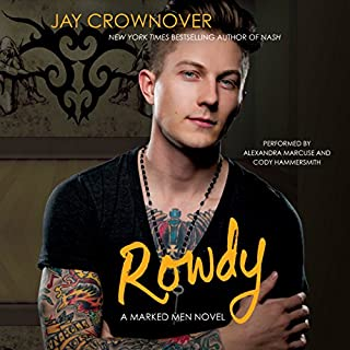 Rowdy audiobook cover art