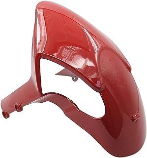 WeiCYN Guardabarros Delantero Guardabarros Aleta del Fango Splash Protector de Barro Cubierta de la Llanta de carenado for Ducati Monster 696 795 796 1200 1100 1100S S4R EVO (Color : Red)