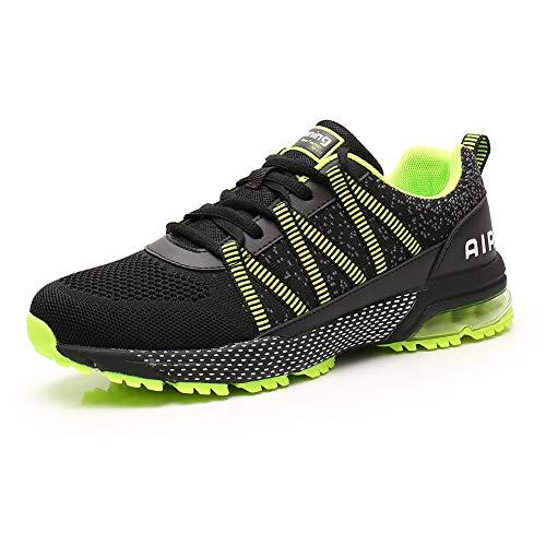 Air Zapatillas Running Mujer Tenis de Deportivas Casual para Correr Gimnasio Bambas Green 40
