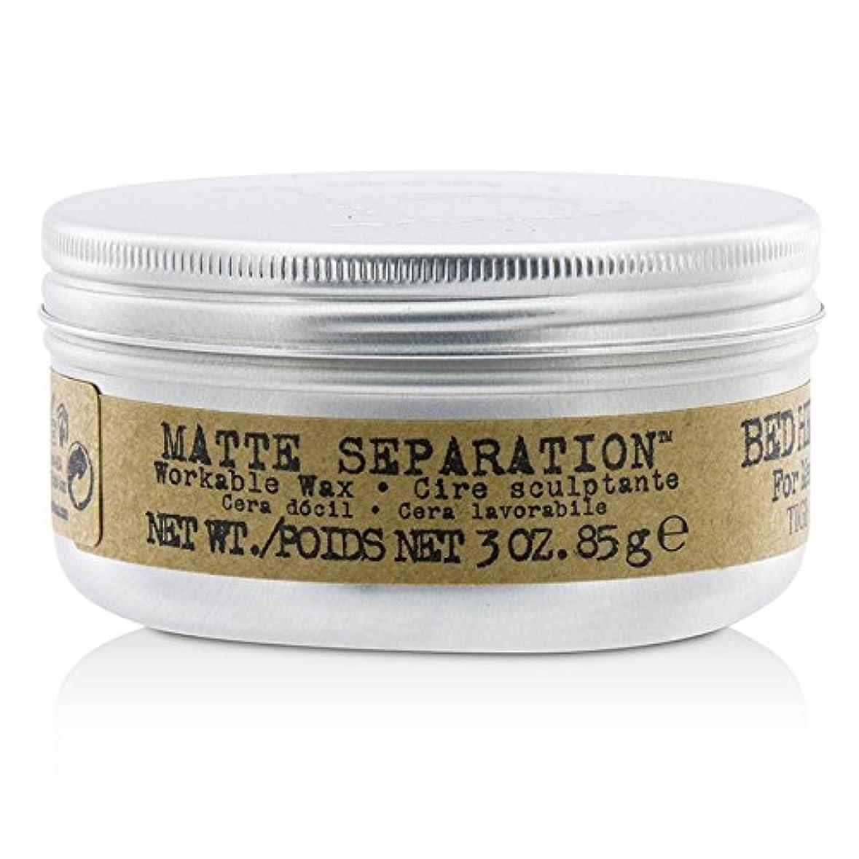 タクト設計オフェンスティジー Bed Head B For Men Matte Separation Workable Wax 85g/3oz並行輸入品
