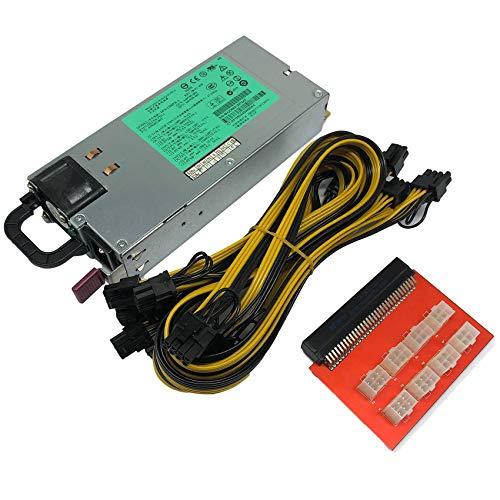 Tamkyo 1200 W Miner Netzteil DPS-1200FB ein 438202-002 440785-001 DL580G5 Netzteil Ethereum APW3 BTC Asic Miner Breakout Box