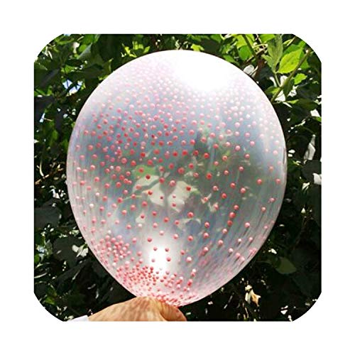 Best Prices! 50Pcs 10Pcs 5Pcs 9 Color Inflatable Confetti Balloon Ball Baby Shower 12Inch Latex Clea...