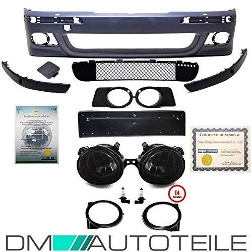 DM Autoteile ABE* Stoßstange vorne Limo Touring SRA/PDC+Nebel Schwarz passt für E39 M5 M